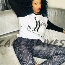 Load image into Gallery viewer, Miz Plus Rapunzel: Illusion Print Graphic Leggings, Leggings & Joggers, CallieLives