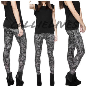 Miz Plus Rapunzel: Illusion Print Graphic Leggings, Leggings & Joggers, CallieLives