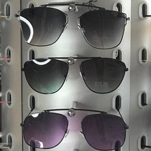 Load image into Gallery viewer, Callie Ombré Black Purple Minty Aviator Sunglasses, Accessories, CallieLives