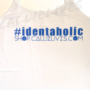 Stasia Identaholic: White Cami Stretch Body Dress - callielives