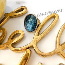Load image into Gallery viewer, Callie Gemstone: Artsy Vintage Style Bling Ring, Jewelry, CallieLives