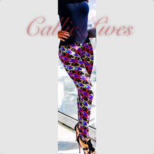 Load image into Gallery viewer, Rainbow Digital Skull Mommy & Me Matching Leggings - callielives