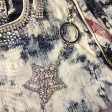 Load image into Gallery viewer, Rhinestone Star KeyChain
