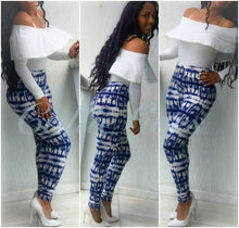 Load image into Gallery viewer, Blue Tidal One Size Leggings