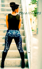 Load image into Gallery viewer, XENA Bio Mechanics: Bone Graphic Leggings - callielives