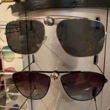 Load image into Gallery viewer, Callie Silver Sunnies: Black Tinted Sun Shades, Accessories, CallieLives