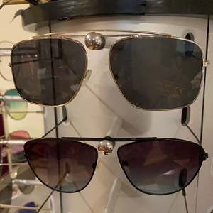 Callie Silver Sunnies: Black Tinted Sun Shades, Accessories, CallieLives