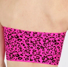 Load image into Gallery viewer, Stasia Neon Cheetah: Animal Print Bandeau