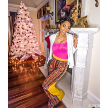 Load image into Gallery viewer, Stasia Holiday: Sequin Stripe Flare NYE Party Pants, Skinny Pants & Palazzos & Other Cute Bottoms, CallieLives