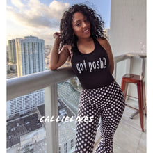 Load image into Gallery viewer, Callie Dot La Flare: Polka Double Bell Bottom Pants