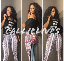 Load image into Gallery viewer, Callie Henna Ink: Tattoo Illusion Leggings - callielives