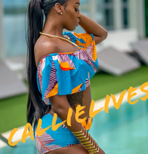 Load image into Gallery viewer, Callie Salsa Morena: Ruffle Full Coverage Bikini - callielives