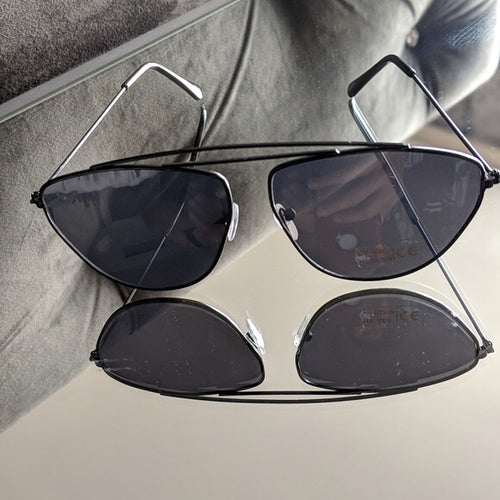 Black Frame Sunglasses with Black Colored Lens