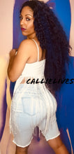 Load image into Gallery viewer, Callie Extra Fringe: Embroidered White Cami Top, Tops, CallieLives