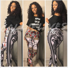 Load image into Gallery viewer, Xena Queen of Hearts: Reflective Illusion Leggings