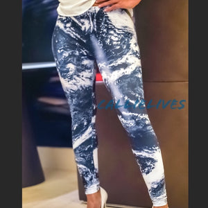 Stasia: My World Oceanic 3D Print Graphic leggings - callielives