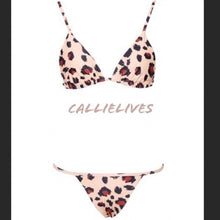 Load image into Gallery viewer, Stasia CheetahKini: Animal Print Triangle Bikini - callielives