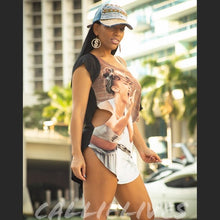 Load image into Gallery viewer, Miz RiRis $5M Finger: Custom Graphic T-Shirt Dress - callielives