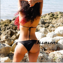 Load image into Gallery viewer, Xena Mermaid: Green Bling Sequin Bikini Swimsuit - callielives
