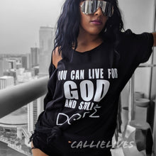 Load image into Gallery viewer, Wholesale Callie Lives 4 God & Still Dope Custom T-Shirt - callielives