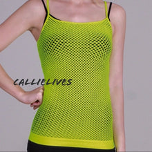 Load image into Gallery viewer, Stasia Camisole Net Sleeveless Layering Tank, Tops, CallieLives