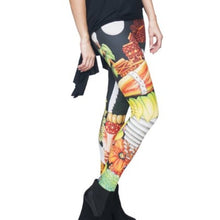 Load image into Gallery viewer, Callie Toucan: Native Islander Statue 3D Leggings