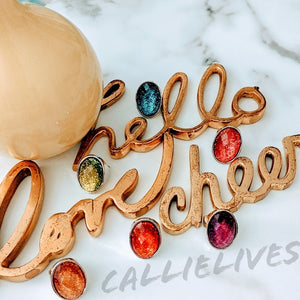 Callie Gemstone: Artsy Vintage Style Bling Ring, Jewelry, CallieLives