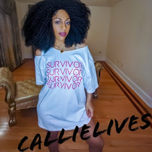 Load image into Gallery viewer, Callie Survivor: Swagalistic Hella Sexy Identaholic T-Shirt