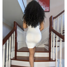 Load image into Gallery viewer, Stasia Identaholic: White Cami Stretch Body Dress