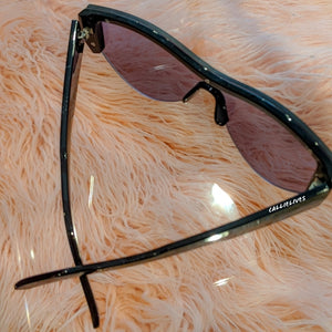 Miz Future Dark Iridescent Mirror Frameless Shades, Accessories, CallieLives