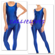 Load image into Gallery viewer, Miz Liquid: Minaj Pink Shiny Biker Yoga Gym Jumpsuit
