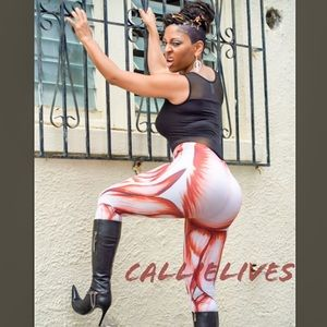 XENA: BodyWorks Bloodline Muscular 3D leggings - callielives