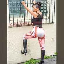 Load image into Gallery viewer, XENA: BodyWorks Bloodline Muscular 3D leggings - callielives
