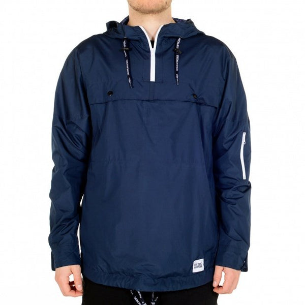 Dedicated Recycled Anorak in Navy