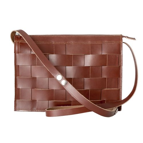Eduards Accessories Näver Collection Small Shoulder Bag Brick - beställningsvara, ca 1 v. leveranstid