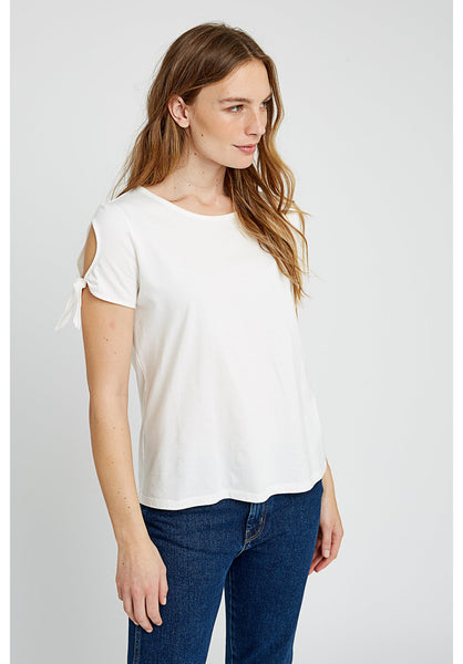 People Tree Emery top in white