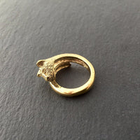 Bohemia E Type Cat Ring Brass