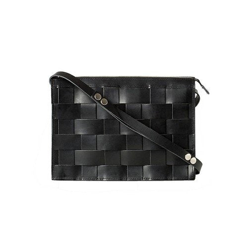 Eduards Accessories Näver Collection Small Shoulder Bag Black