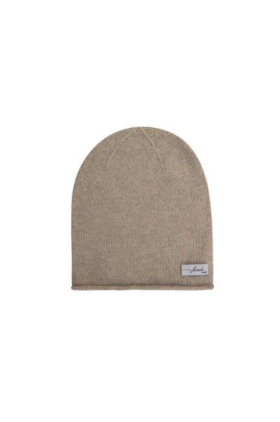 Komodo Fanny Cashmere Hat in Stone