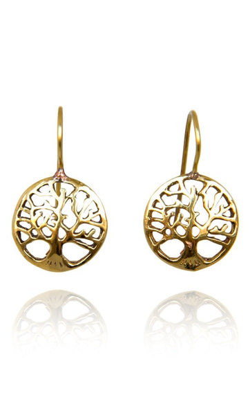 Bohemia Tree of Life earrings Guld eller Silver