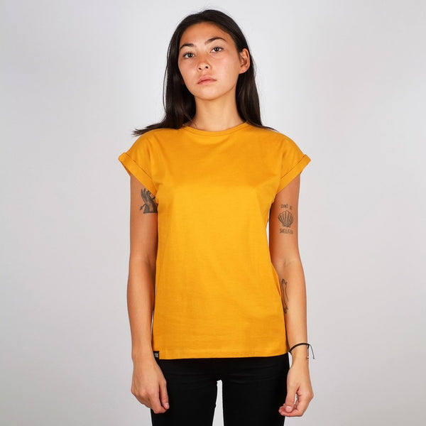 Dedicated T-shirt Visby Mustard Mustard