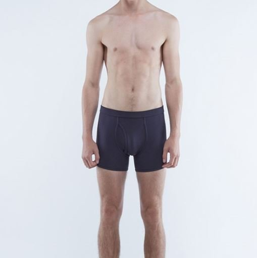 The White Briefs Ebb Boxer in Navy - 50% rabatt