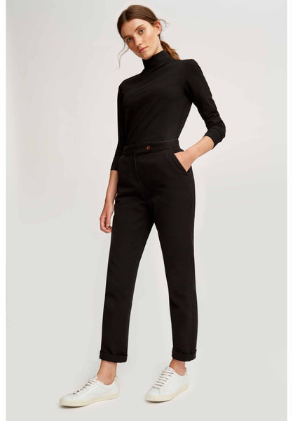 People Tree Cynthia Trousers Black-20% REA