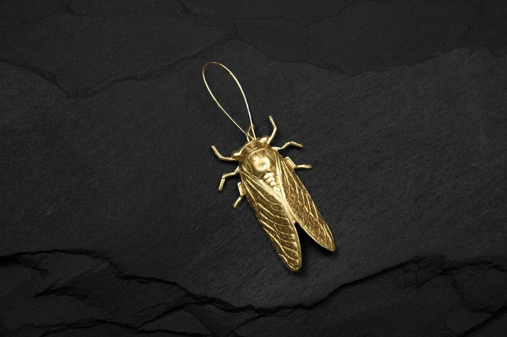 Bohemia Cicada Earring in Gold or Silver