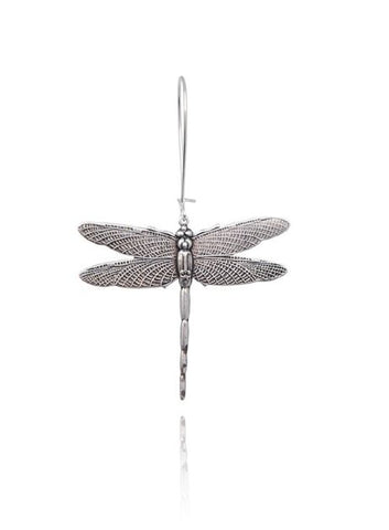 Bohemia Dragonfly Earring Silver