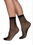 Swedish Stockings Vera Ankelstrumpor Black