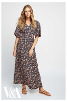 People Tree Yasmin Print Maxi Dress - 20% rabatt