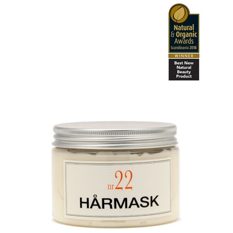 Bruns Hårmask No 22 Varm Bergamott 350ml