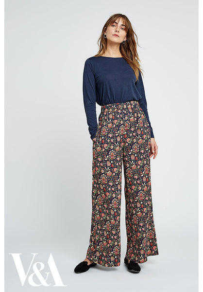 People Tree Yasmin Print Trousers - 20% rabatt