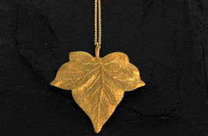 Bohemia Big Leaf Necklace
